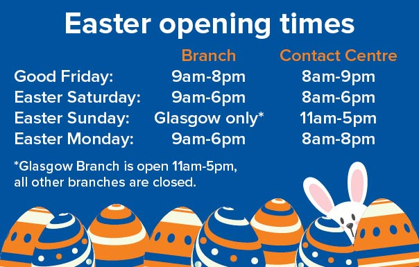 Motorpoint Easter Opening Times 2019