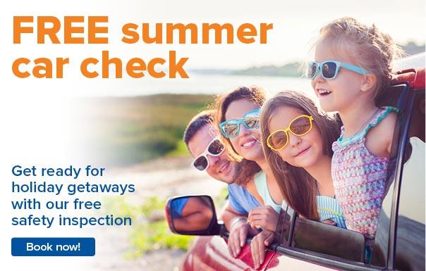 Free summer health check