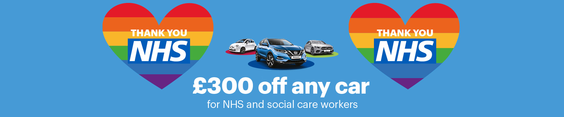 £300 off for NHS and Social care workers