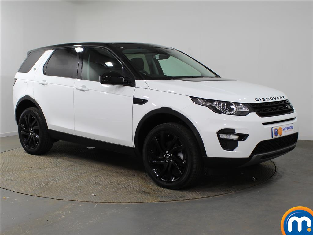 Land Rover Discovery Sport Hse Black Automatic Diesel 4X4 - Stock Number (937302) - Drivers side front corner
