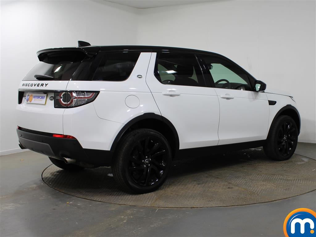 Land Rover Discovery Sport Hse Black Automatic Diesel 4X4 - Stock Number (937302) - Drivers side rear corner