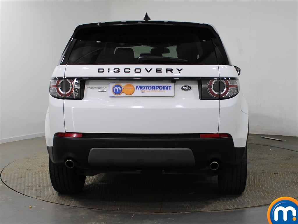 Land Rover Discovery Sport Hse Black Automatic Diesel 4X4 - Stock Number (937302) - Rear bumper