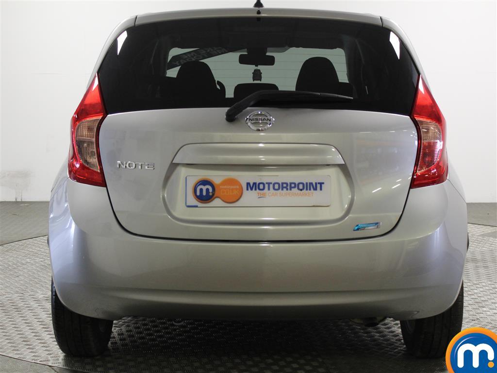Nissan Note Acenta Premium Manual Diesel Hatchback - Stock Number (934466) - Rear bumper