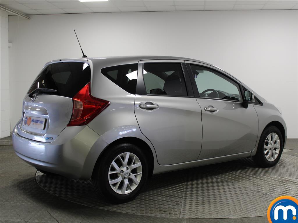 Nissan Note Acenta Premium Manual Diesel Hatchback - Stock Number (934466) - Passenger side rear corner