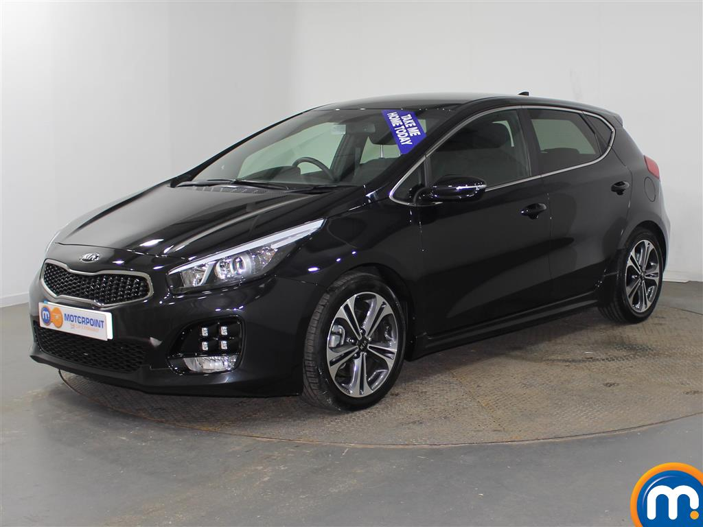 KIA Ceed Gt-Line Manual Petrol Hatchback - Stock Number (939759) - Passenger side front corner