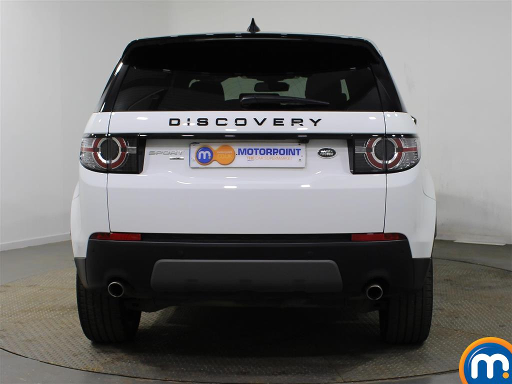 Land Rover Discovery Sport Hse Black Automatic Diesel 4X4 - Stock Number (940905) - Rear bumper