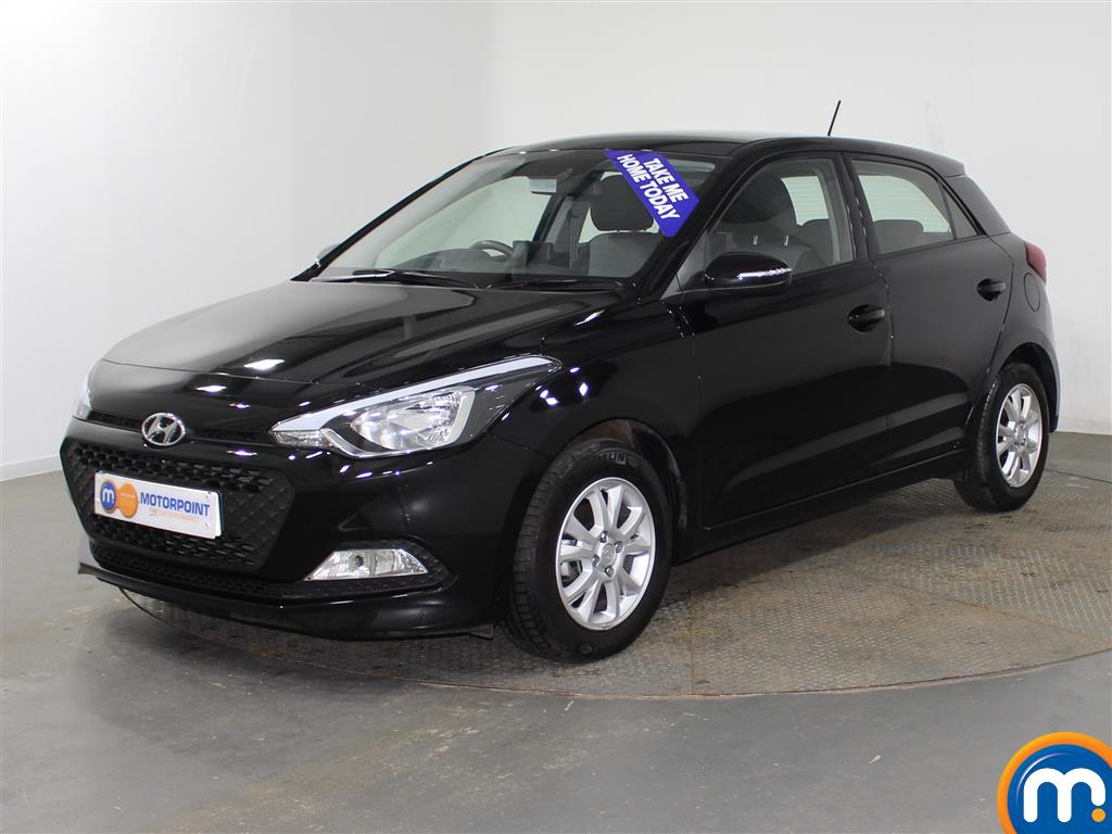 Hyundai I20 SE Manual Petrol Hatchback - Stock Number (942205) - Passenger side front corner