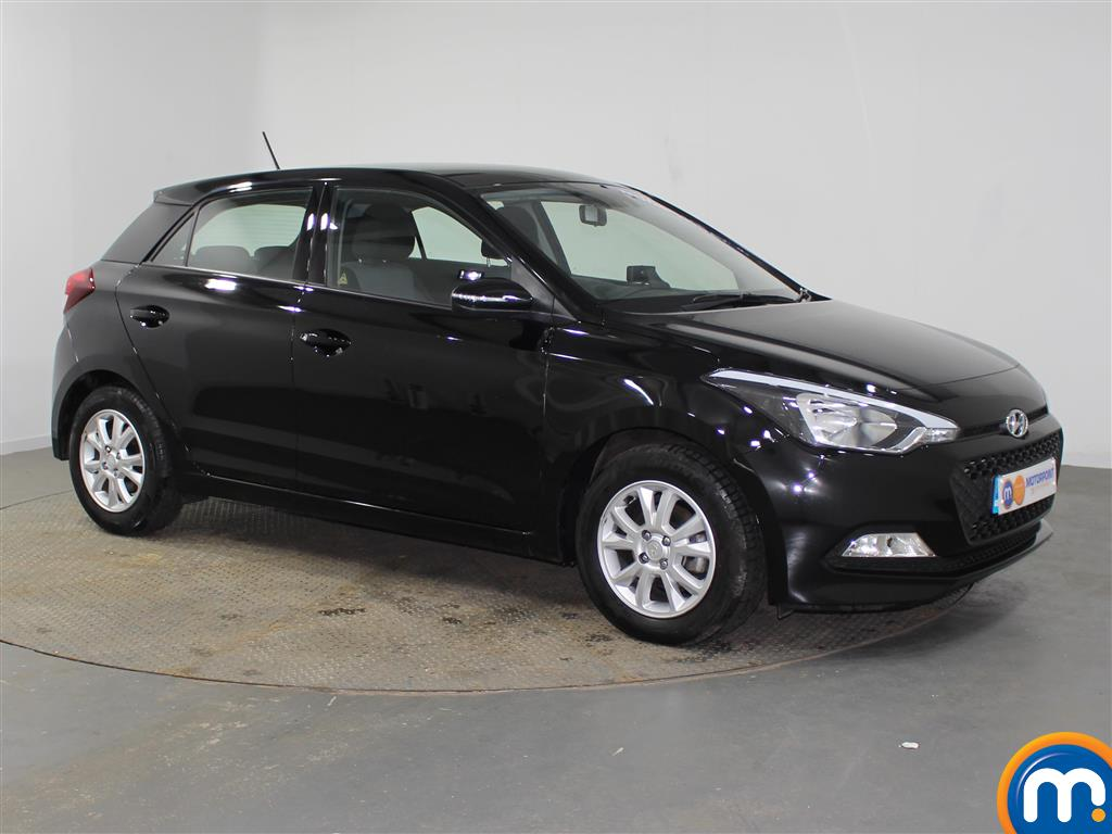 Hyundai I20 SE Manual Petrol Hatchback - Stock Number (942205) - Drivers side front corner