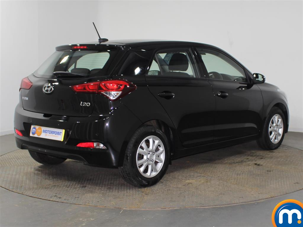 Hyundai I20 SE Manual Petrol Hatchback - Stock Number (942205) - Drivers side rear corner