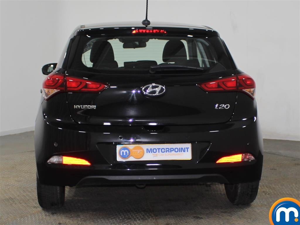 Hyundai I20 SE Manual Petrol Hatchback - Stock Number (942205) - Rear bumper