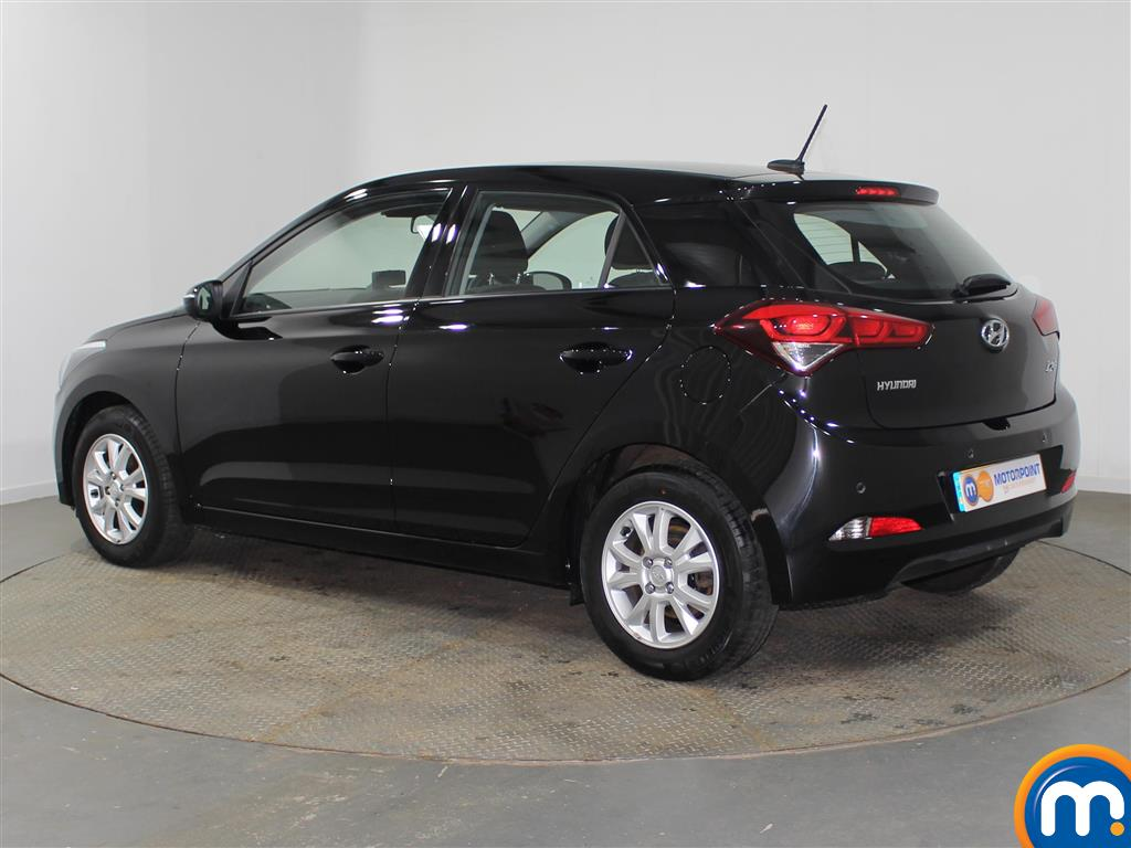 Hyundai I20 SE Manual Petrol Hatchback - Stock Number (942205) - Passenger side rear corner