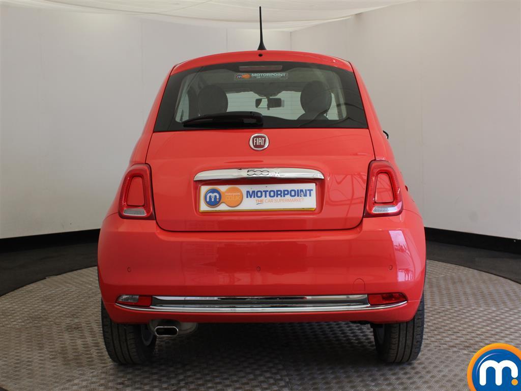 Fiat 500 Lounge Manual Petrol Hatchback - Stock Number (941803) - Rear bumper