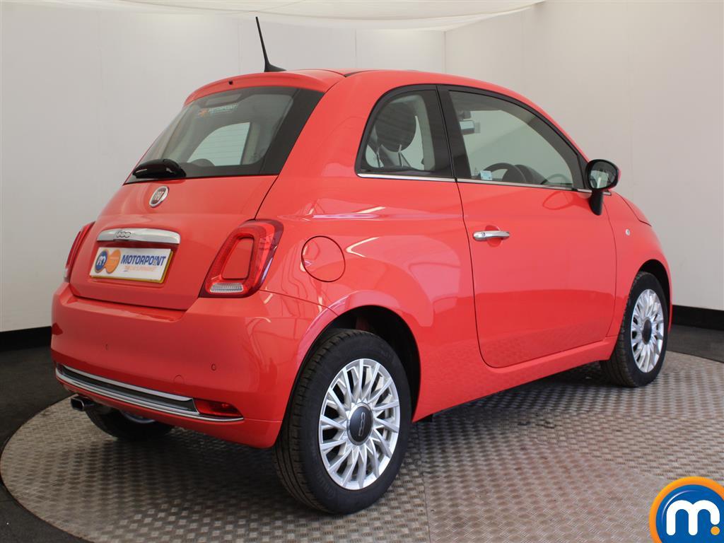 Fiat 500 Lounge Manual Petrol Hatchback - Stock Number (941803) - Passenger side rear corner
