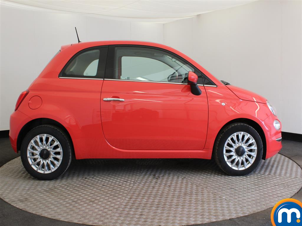 Fiat 500 Lounge Manual Petrol Hatchback - Stock Number (941803) - Passenger side
