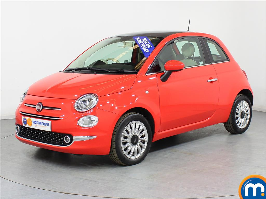 Fiat 500 Lounge - Stock Number (944430) - Passenger side front corner