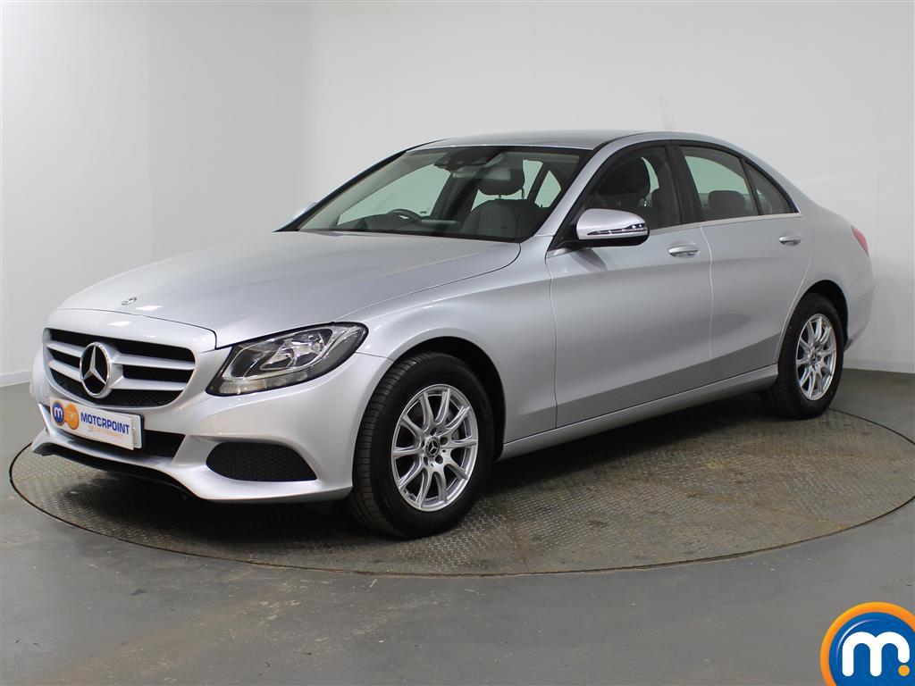 Mercedes-Benz C Class SE Manual Petrol Saloon - Stock Number (947411) - Passenger side front corner