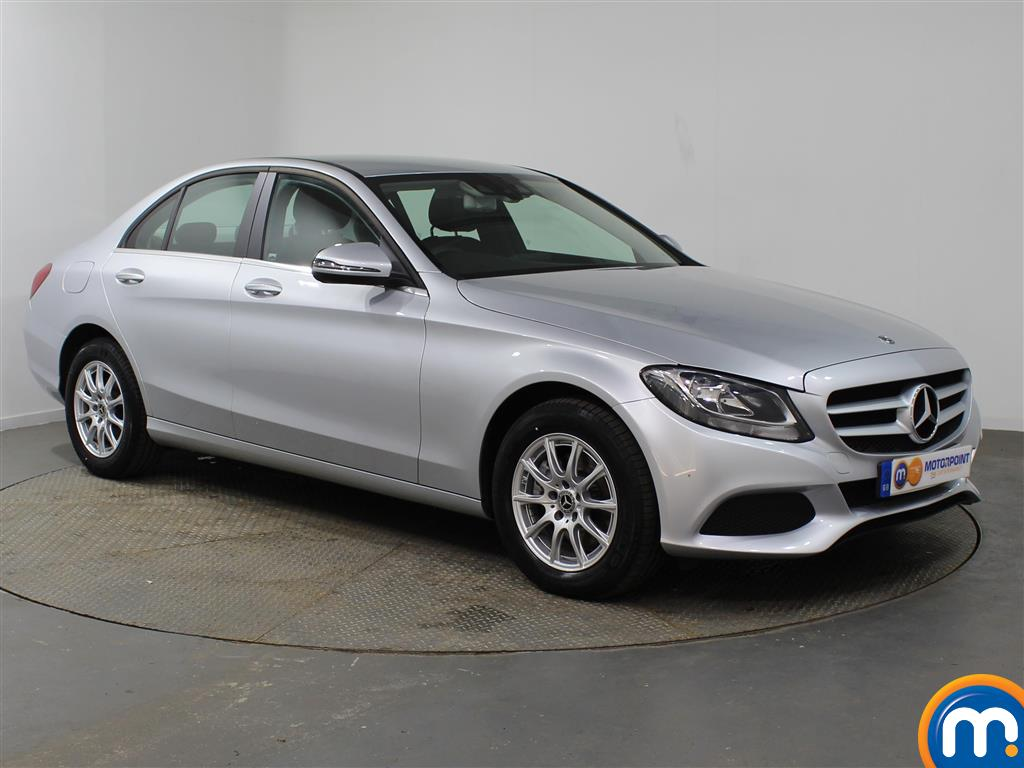Mercedes-Benz C Class SE Manual Petrol Saloon - Stock Number (947411) - Drivers side front corner