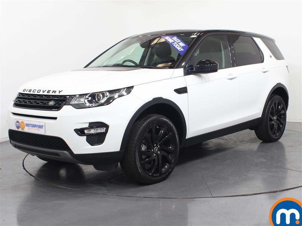 Land Rover Discovery Sport HSE Black - Stock Number (945077) - Passenger side front corner