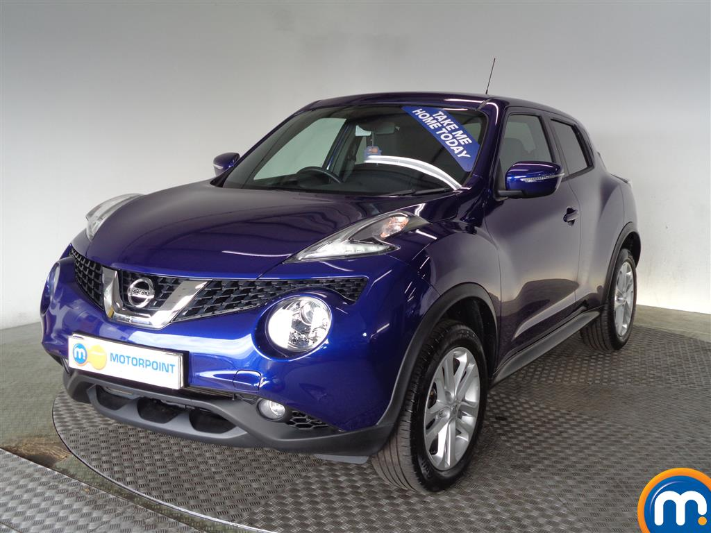 Used Nissan Juke Cars For Sale In Glasgow Motorpoint Car Supermarket Fuel Filter Location Hatchback N Connecta