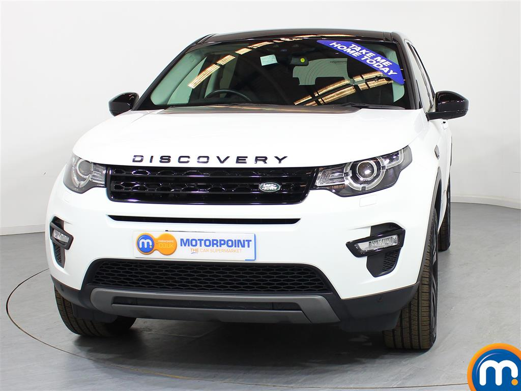 Land Rover Discovery Sport Hse Black Automatic Diesel 4X4 - Stock Number (948634) - Front bumper