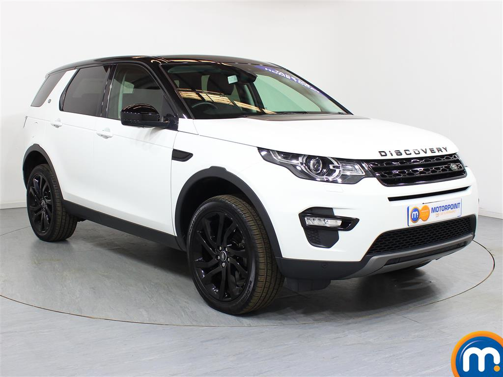 Land Rover Discovery Sport Hse Black Automatic Diesel 4X4 - Stock Number (948634) - Drivers side front corner