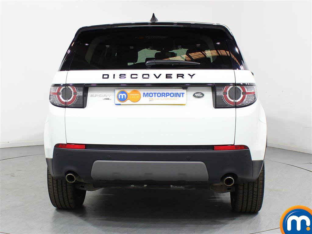 Land Rover Discovery Sport Hse Black Automatic Diesel 4X4 - Stock Number (948634) - Rear bumper