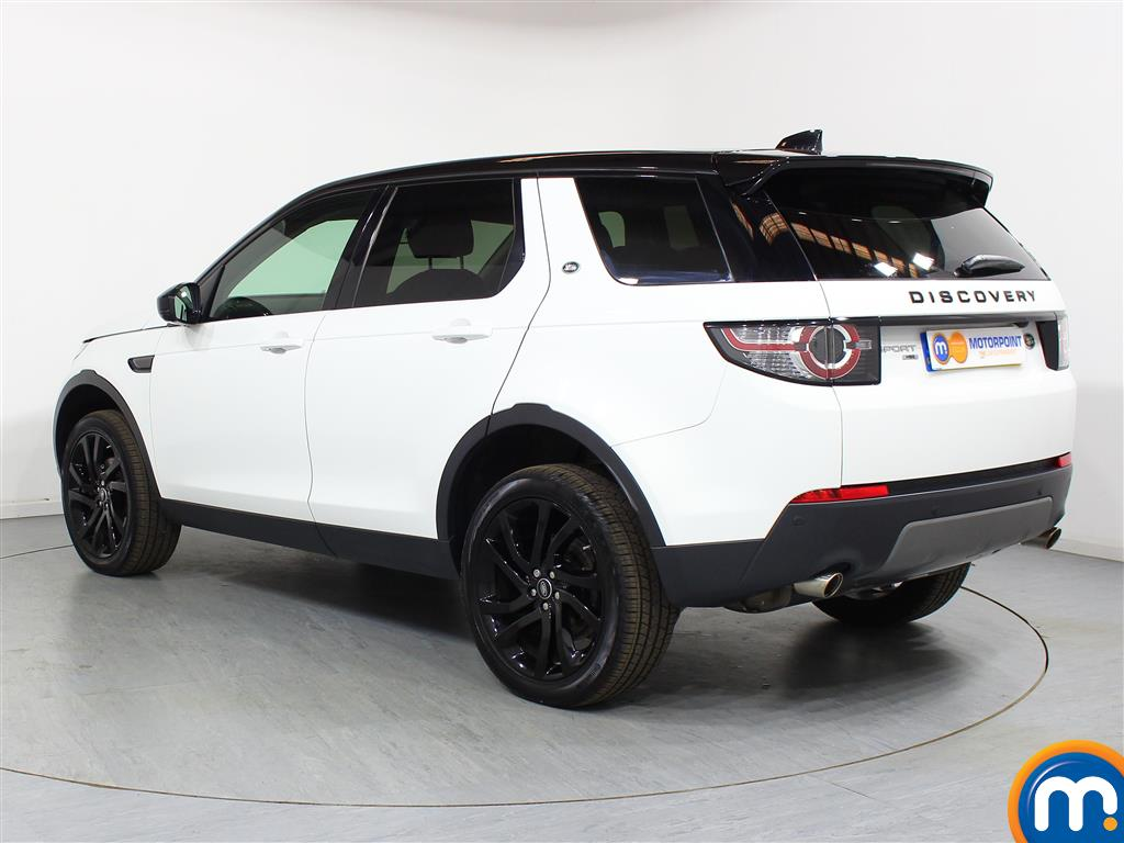 Land Rover Discovery Sport Hse Black Automatic Diesel 4X4 - Stock Number (948634) - Passenger side rear corner