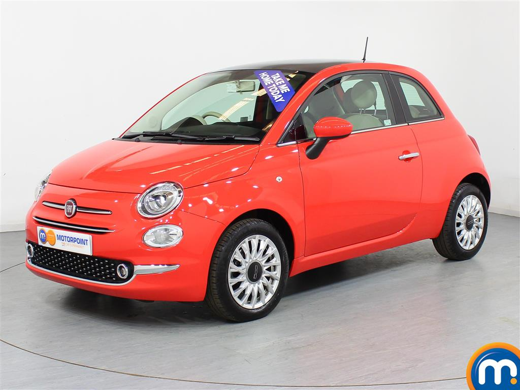Fiat 500 Lounge - Stock Number (944482) - Passenger side front corner