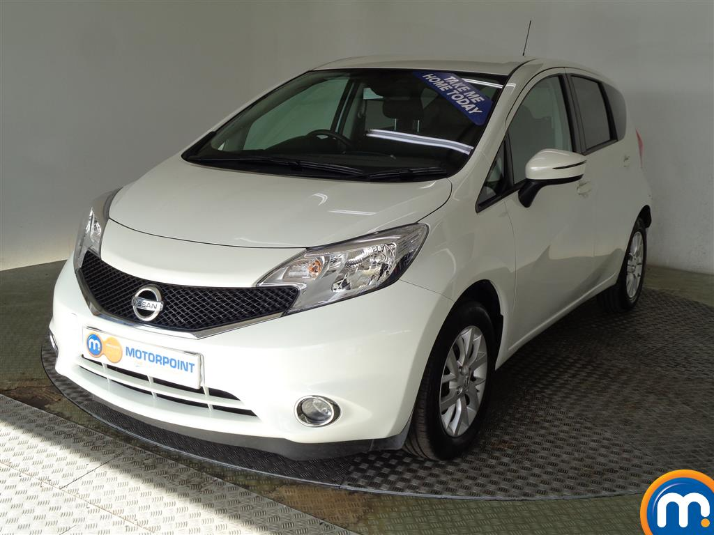 Nissan Note Acenta Premium Manual Diesel Hatchback - Stock Number (950382) - Passenger side front corner