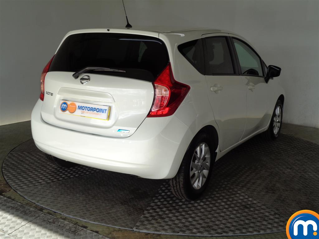 Nissan Note Acenta Premium Manual Diesel Hatchback - Stock Number (950382) - Drivers side rear corner