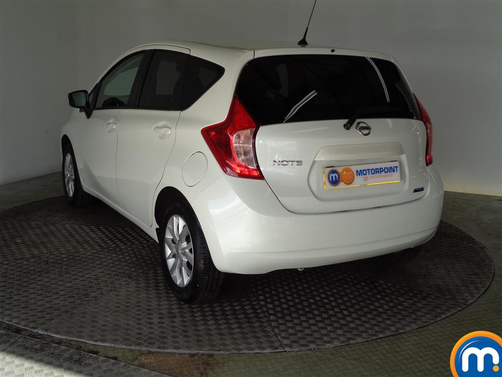 Nissan Note Acenta Premium Manual Diesel Hatchback - Stock Number (950382) - Passenger side rear corner