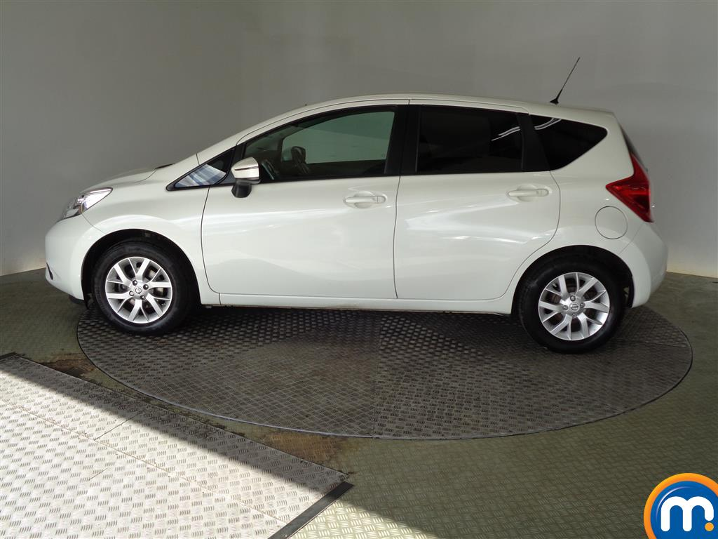Nissan Note Acenta Premium Manual Diesel Hatchback - Stock Number (950382) - Passenger side