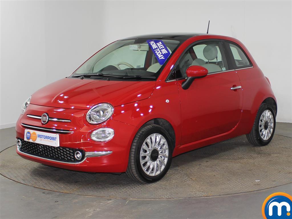 Fiat 500 Lounge - Stock Number (944447) - Passenger side front corner