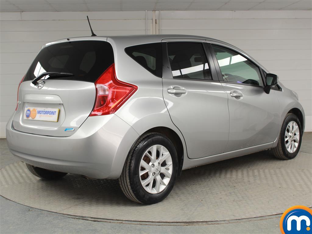 Nissan Note Acenta Premium Manual Diesel Hatchback - Stock Number (948925) - Drivers side rear corner