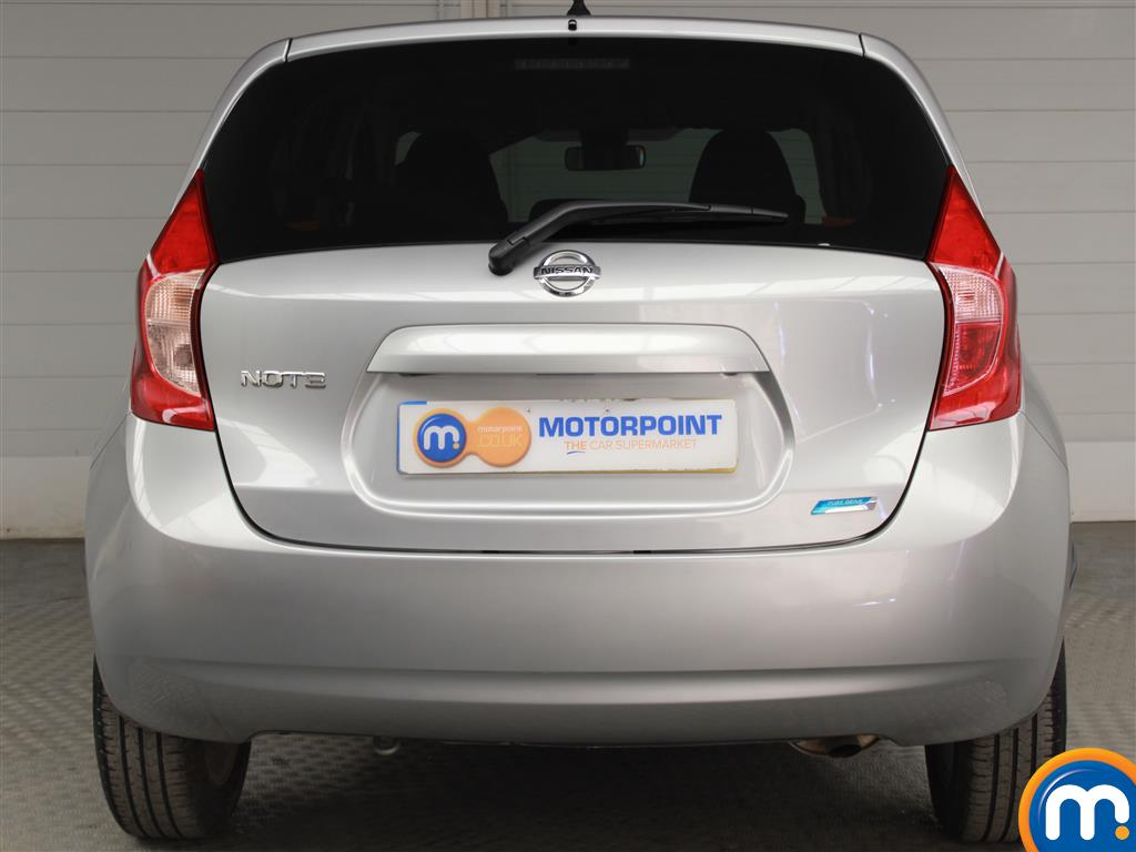 Nissan Note Acenta Premium Manual Diesel Hatchback - Stock Number (948925) - Rear bumper