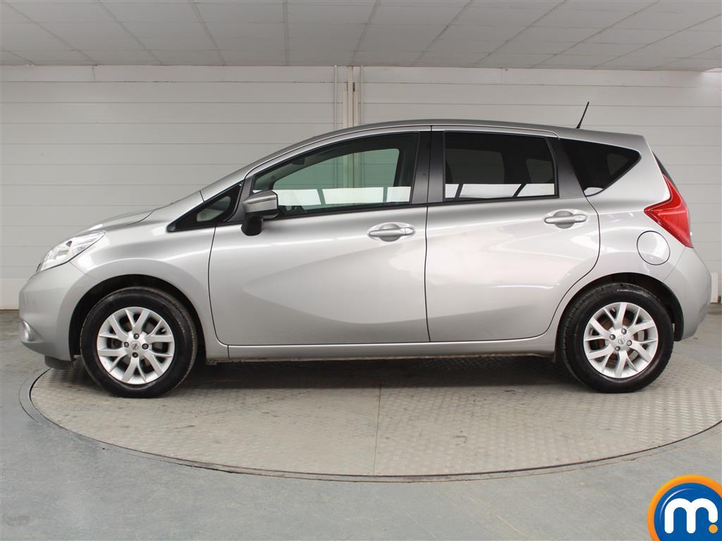Nissan Note Acenta Premium Manual Diesel Hatchback - Stock Number (948925) - Passenger side