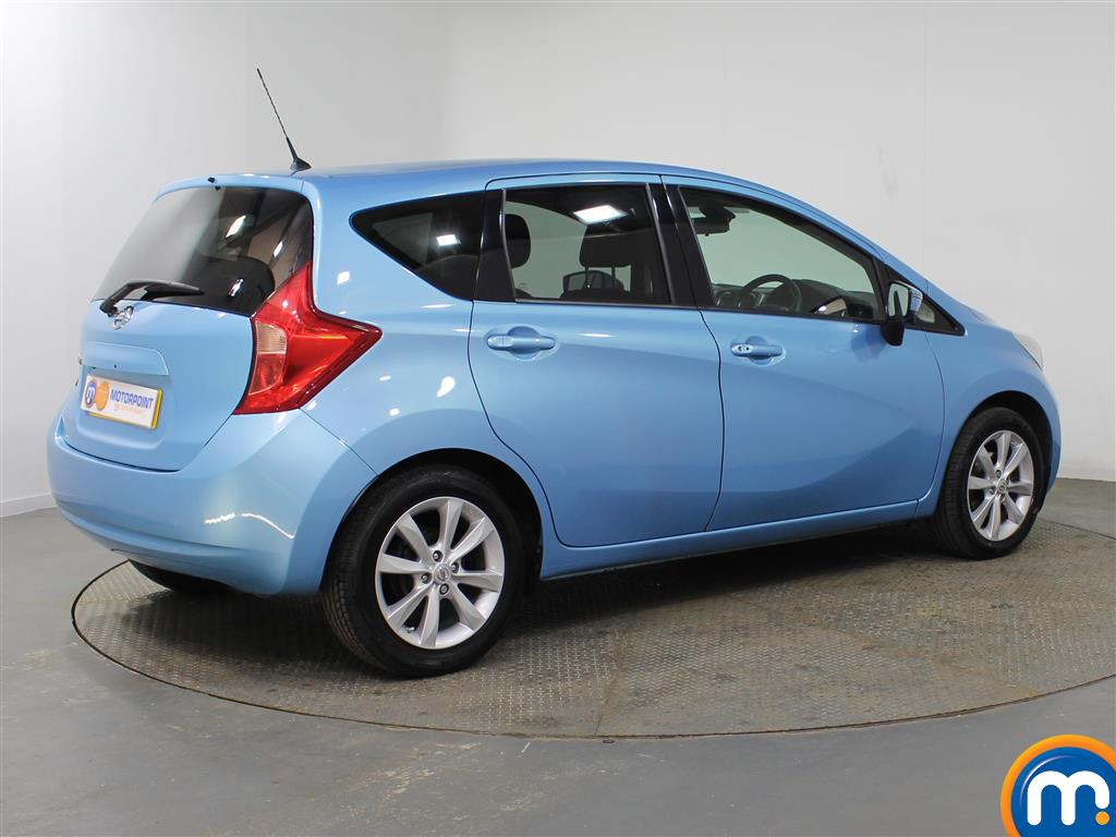 Nissan Note Tekna Manual Diesel Hatchback - Stock Number (952843) - Drivers side rear corner