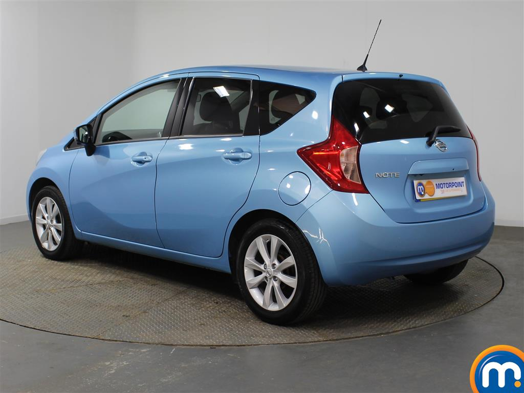 Nissan Note Tekna Manual Diesel Hatchback - Stock Number (952843) - Passenger side rear corner