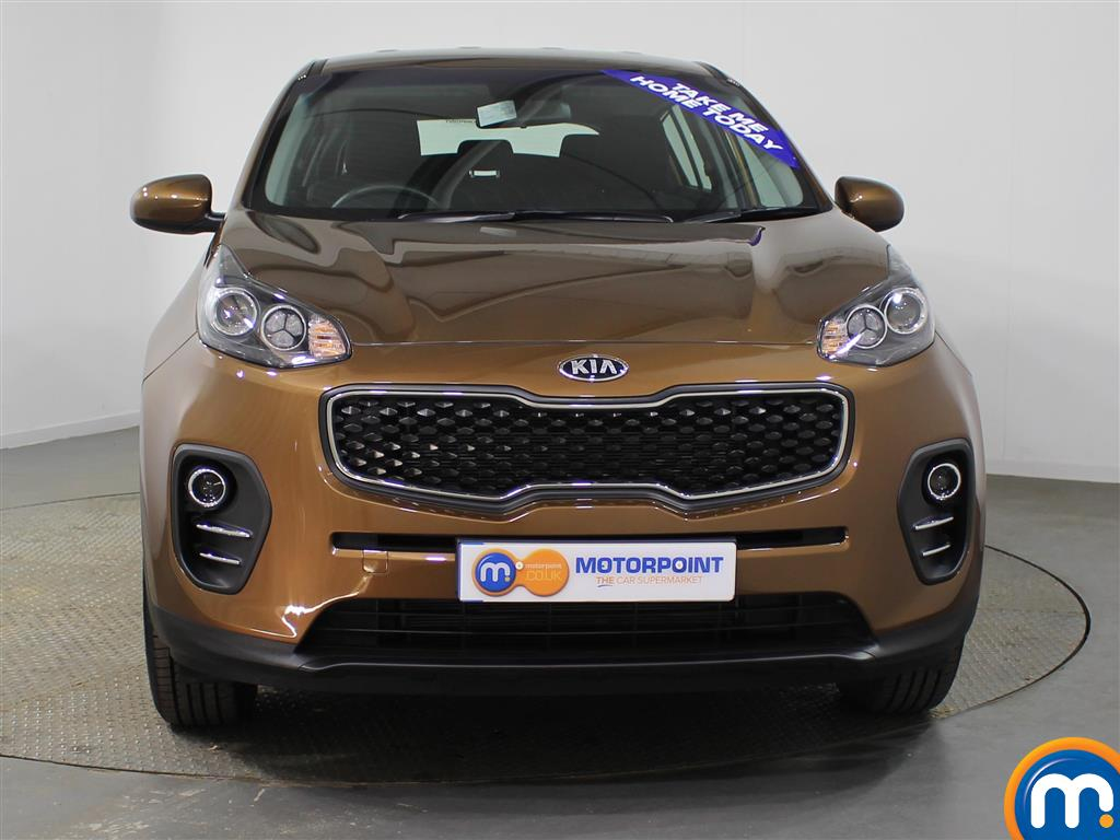 KIA Sportage 1 Manual Petrol Crossover - Stock Number (953439) - Front bumper