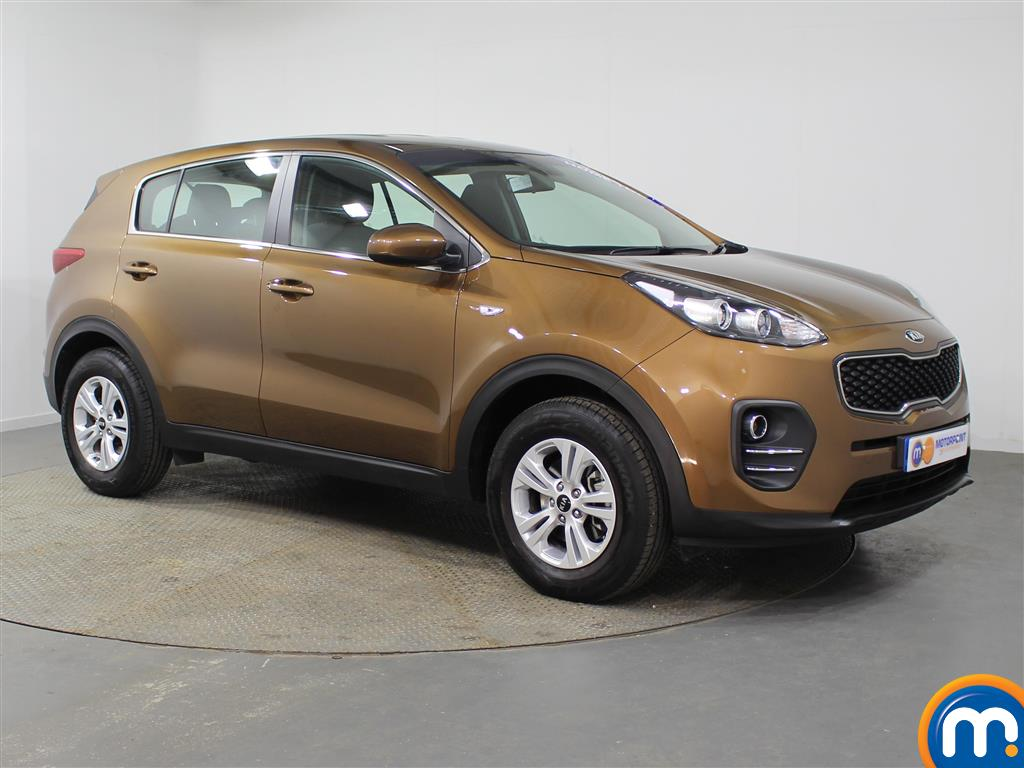 KIA Sportage 1 Manual Petrol Crossover - Stock Number (953439) - Drivers side front corner