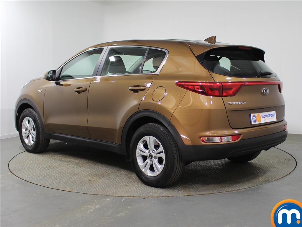 KIA Sportage 1 Manual Petrol Crossover - Stock Number (953439) - Passenger side rear corner