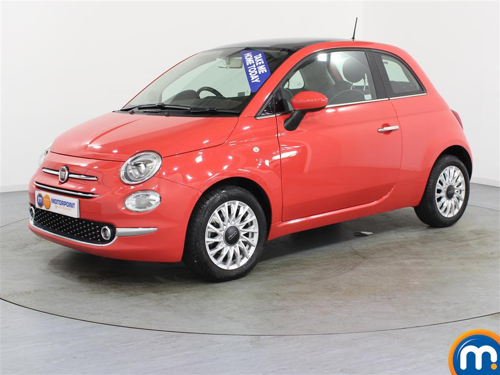 Fiat 500 Lounge - Stock Number (944277) - Passenger side front corner
