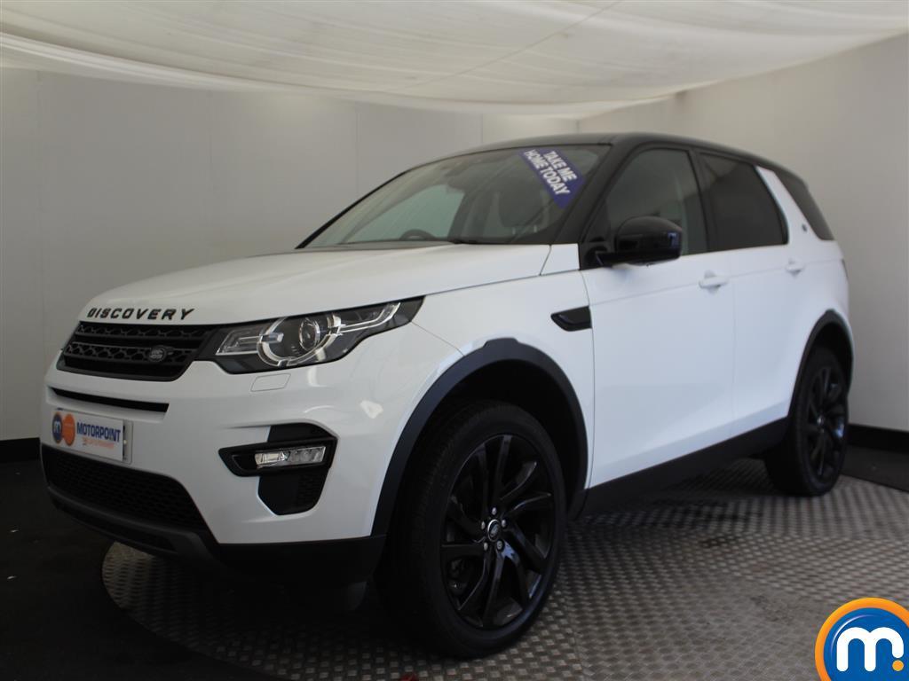 Land Rover Discovery Sport HSE Black - Stock Number (953323) - Passenger side front corner