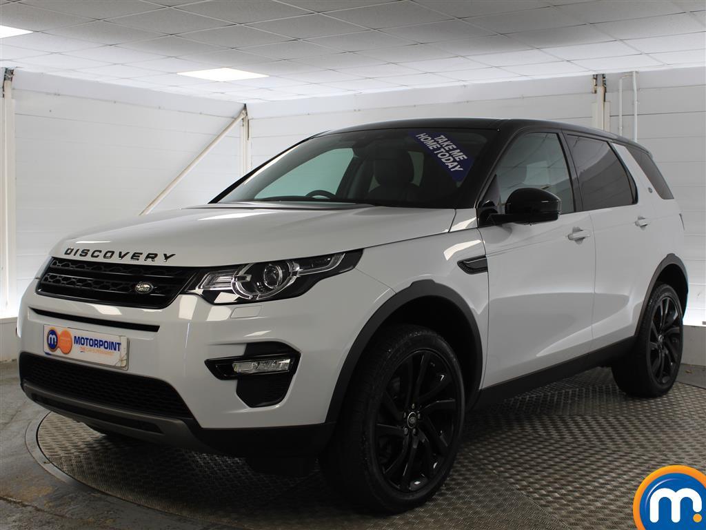 Land Rover Discovery Sport HSE Black - Stock Number (951765) - Passenger side front corner