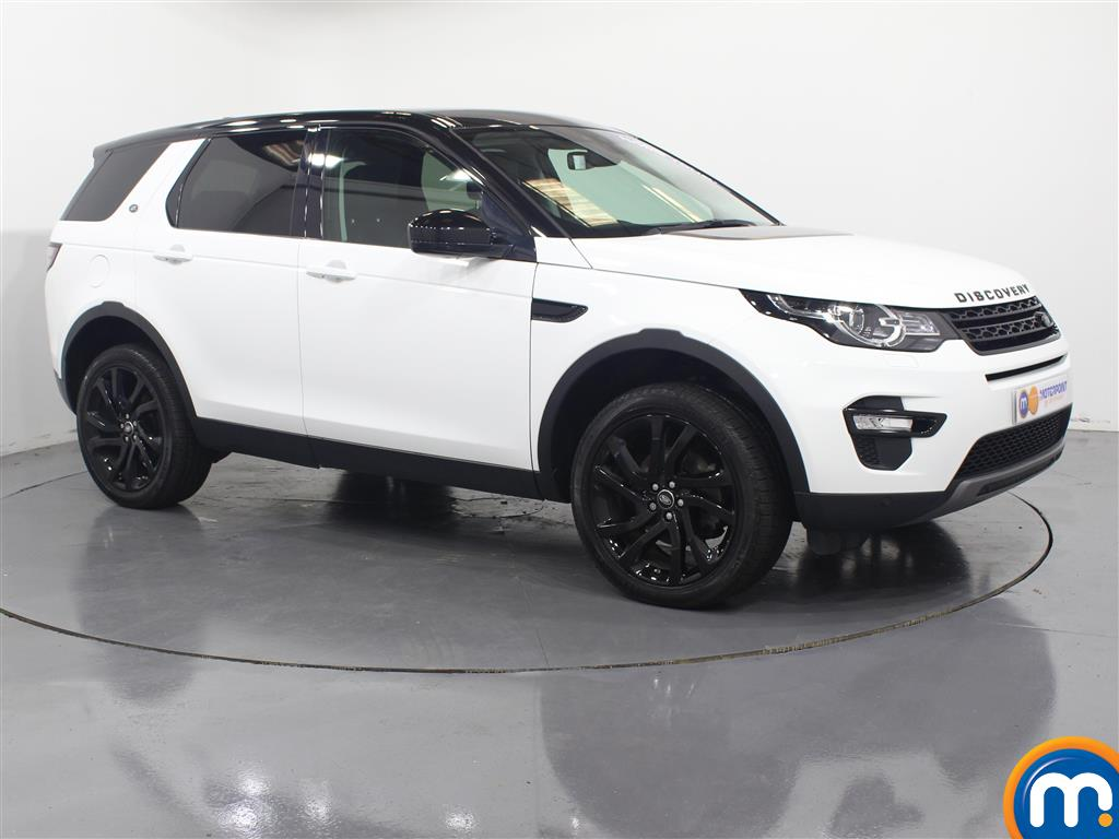 Land Rover Discovery Sport Hse Black Automatic Diesel 4X4 - Stock Number (953334) - Drivers side front corner