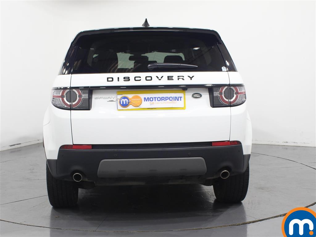 Land Rover Discovery Sport Hse Black Automatic Diesel 4X4 - Stock Number (953334) - Rear bumper