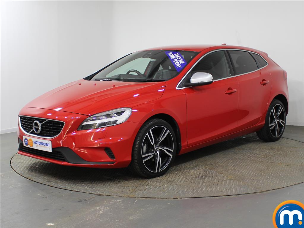 Volvo V40 R Design Pro Manual Diesel Hatchback - Stock Number (951725) - Passenger side front corner