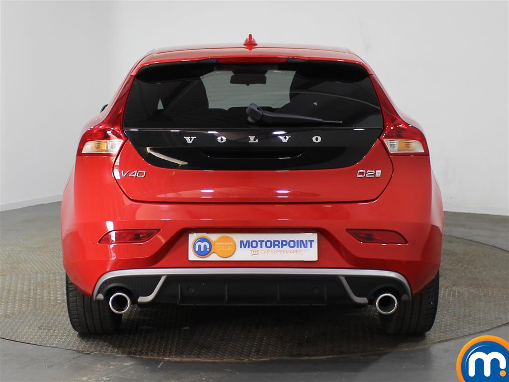 Volvo V40 R Design Pro Manual Diesel Hatchback - Stock Number (951725) - Rear bumper