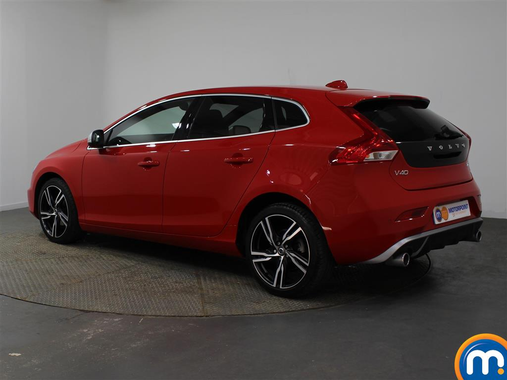 Volvo V40 R Design Pro Manual Diesel Hatchback - Stock Number (951725) - Passenger side rear corner