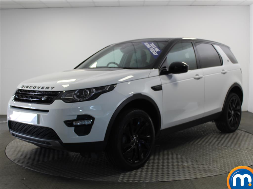 Land Rover Discovery Sport HSE Black - Stock Number (948900) - Passenger side front corner
